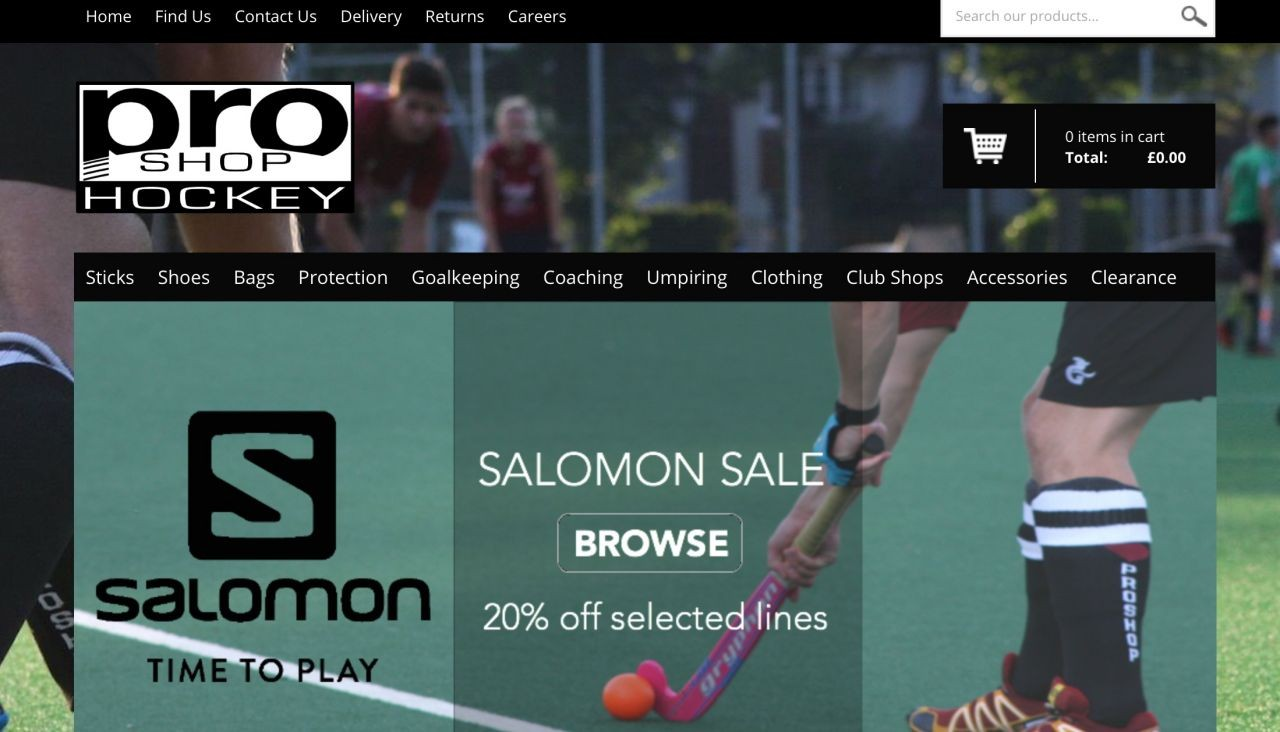 Proshop-web-site